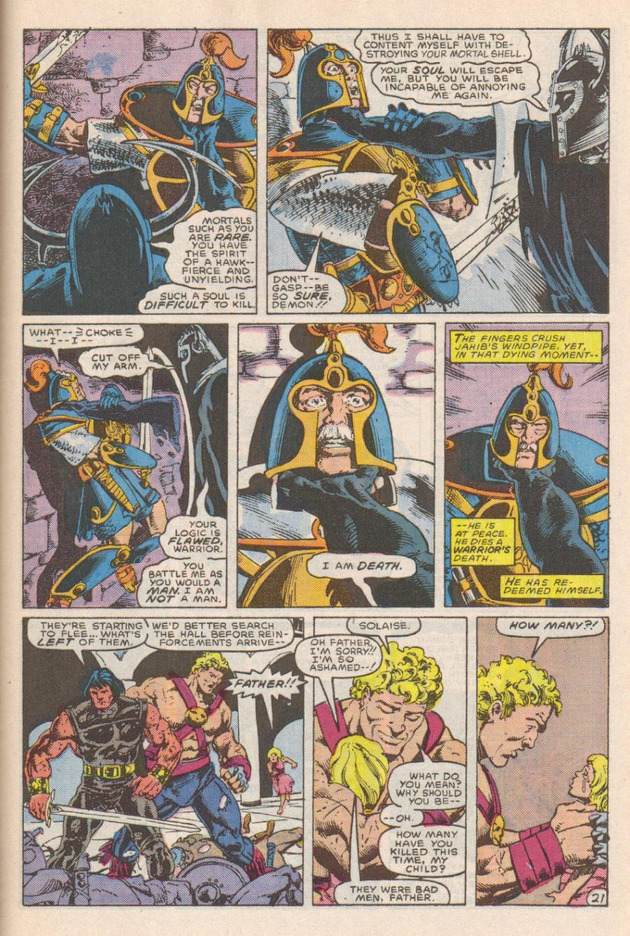 Conan the Barbarian (1970) Issue #191 #203 - English 22
