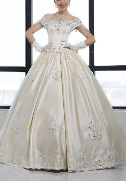 Vintage Taffeta Ball Gowns