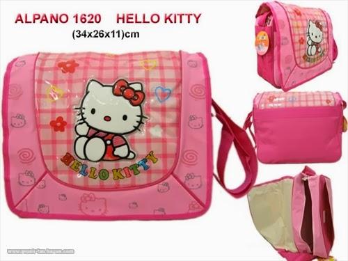 Tas Selempang Sekolah Anak TK dan SD Alpano 1620 Hello Kitty  Terbaru Murah dan Bagus