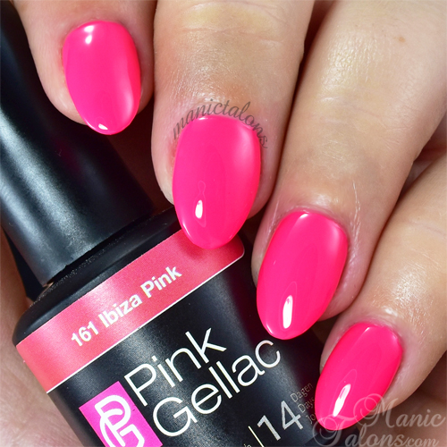 Pink Gellac Ibiza Pink Swatch