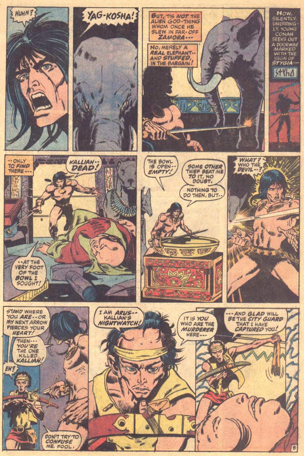Conan the Barbarian (1970) Issue #7 #19 - English 9