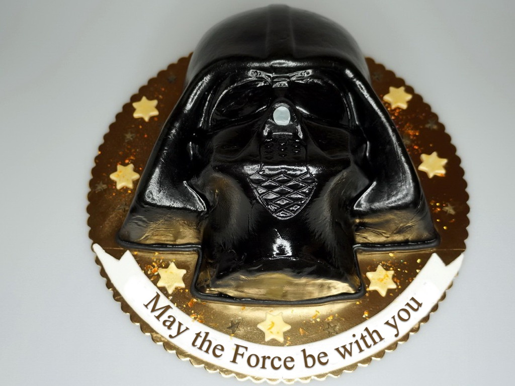 London Patisserie Lord Darth Vader Birthday Cake And Star Wars