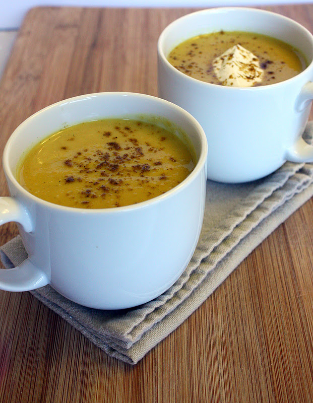 Vanilla Clouds and Lemon Drops: Spicy Parsnip Soup