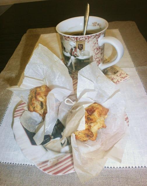 muffin al panettone