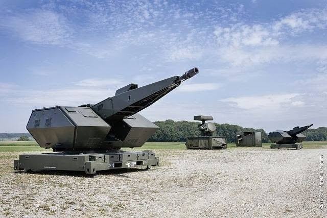 PT AIU Pasok Komponen Meriam Oerlikon Skyshield untuk Rheinmetall Defence
