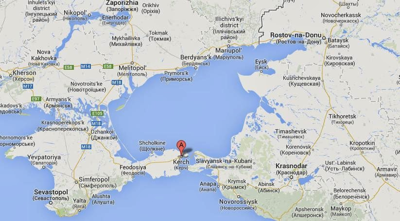 Underwater Lights Eco R Geo: Kerch bridge will be designed for cars and ...