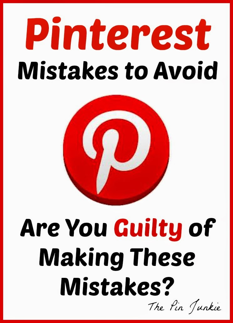 Thinks you shouldn't do on Pinterest