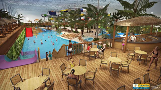 Village vacances valcartier annonce la for Hotel parc aquatique interieur quebec