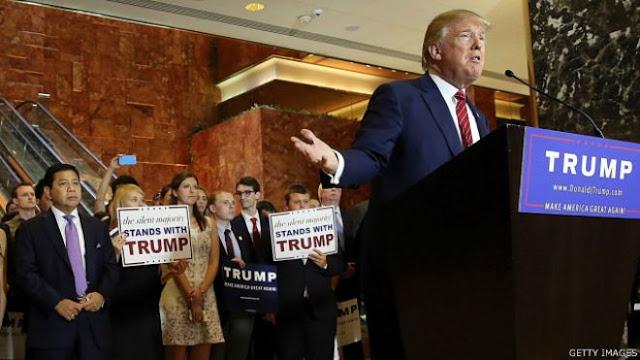Ada HT Dibalik Pertemuan Novanto-Trump