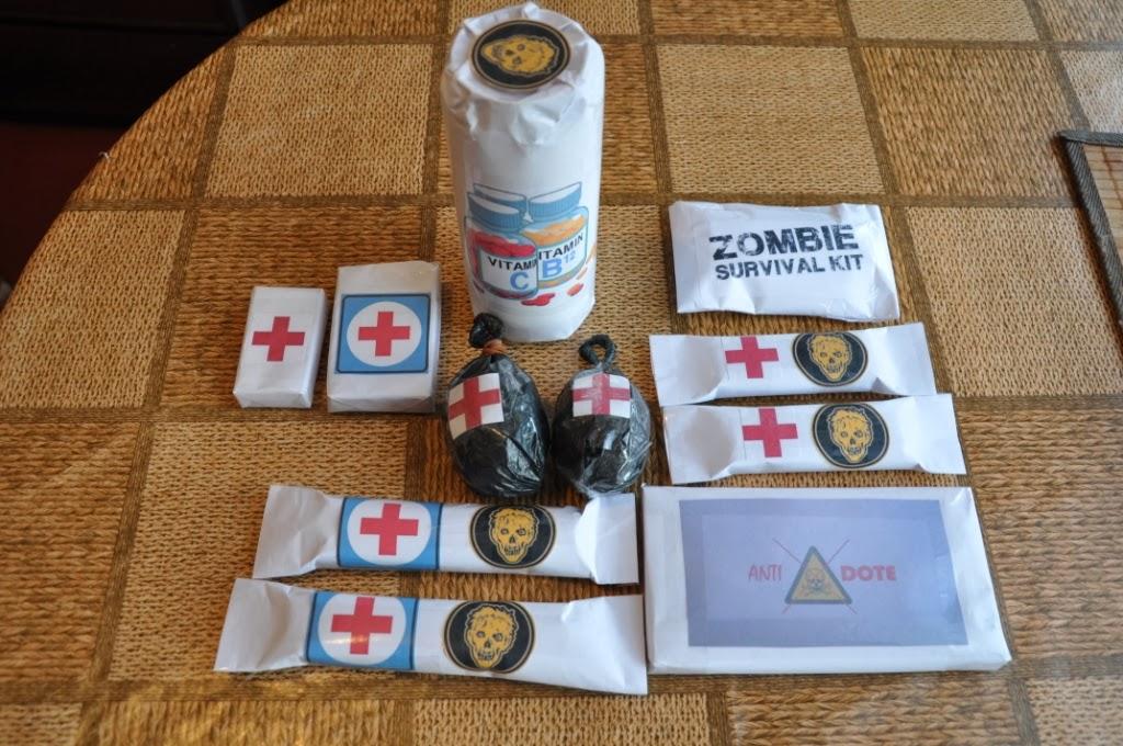 Набор выживания в зомби-апокалипсис своими руками
