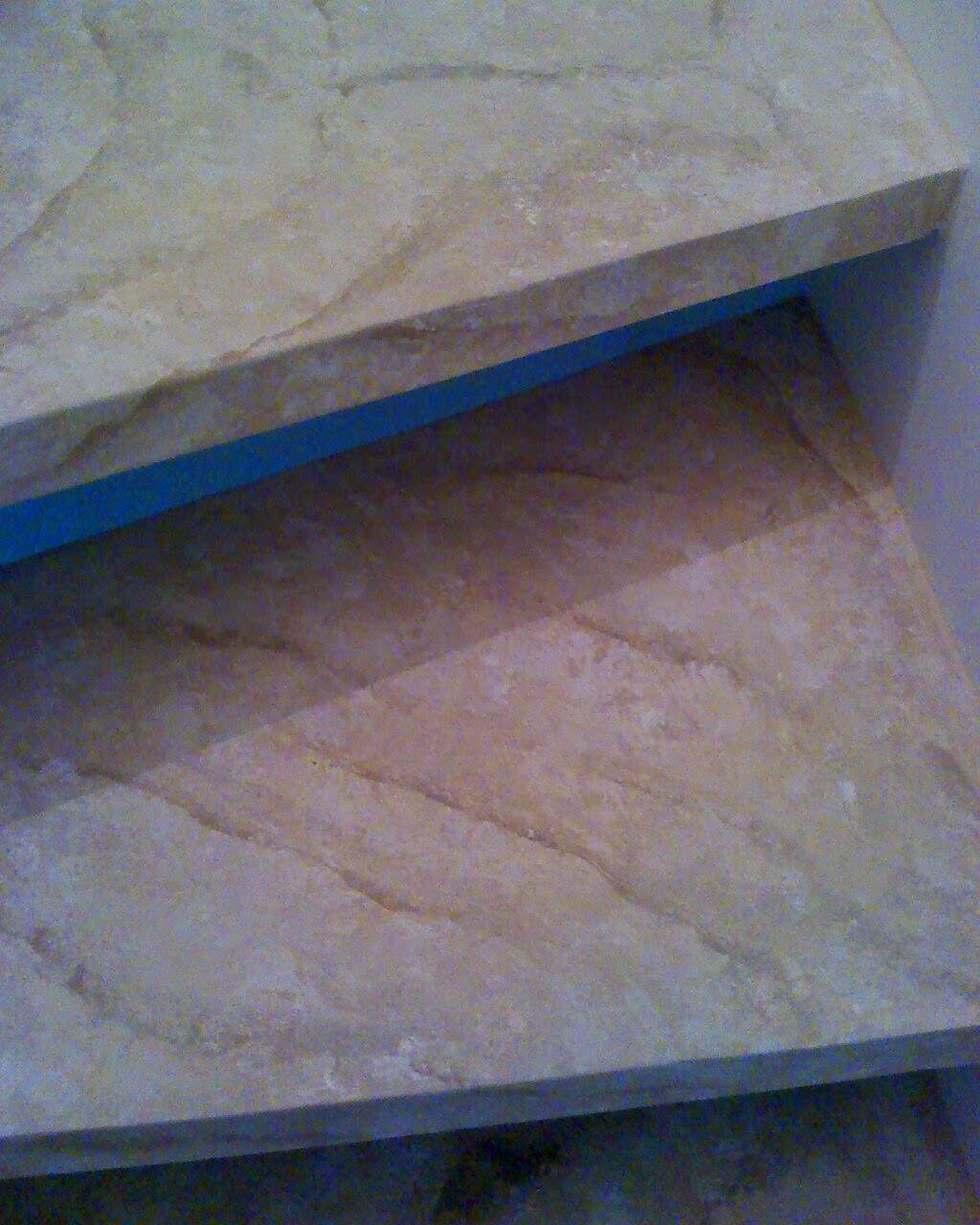 ESCADA marmorizada em sampa
