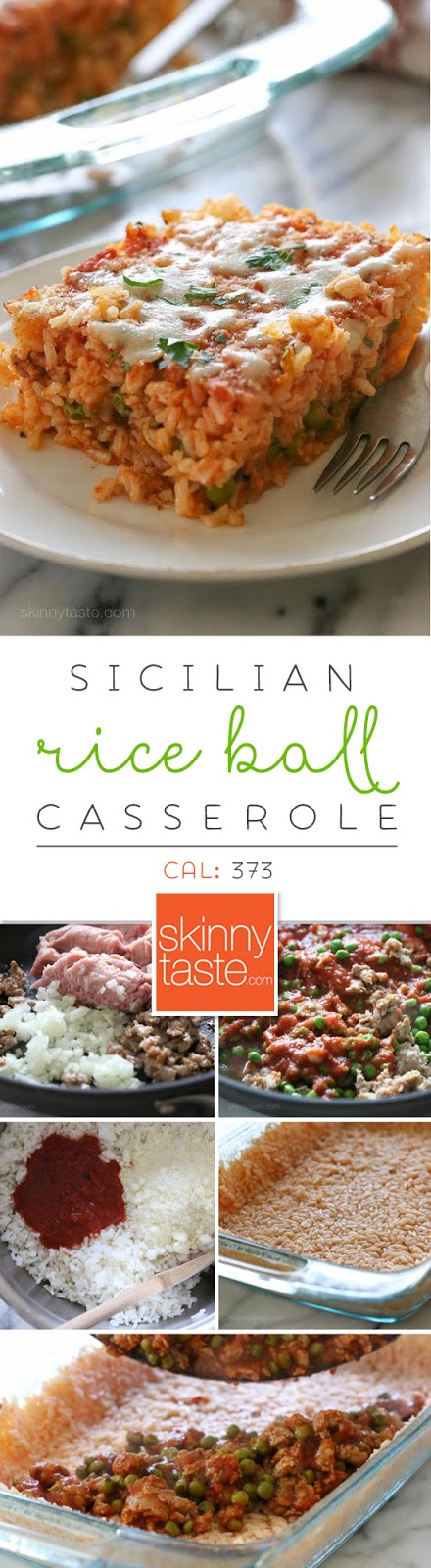 Sicilian Rice Ball Casserole – everything you love about arancini ...