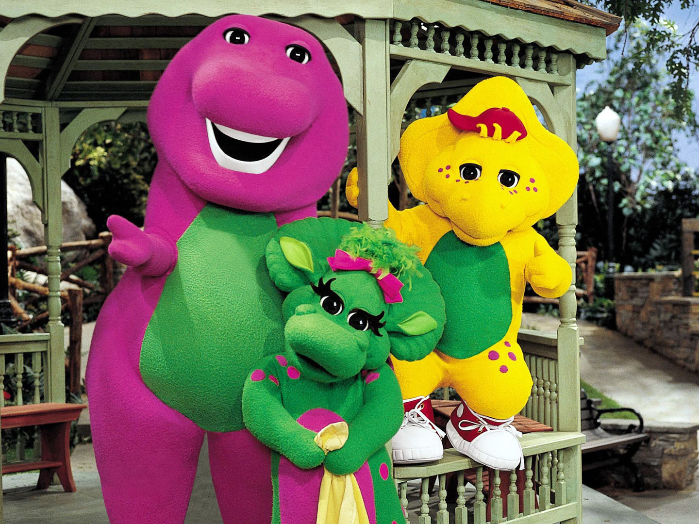 barney and friends baby bop lol kickin it old skool pinterest