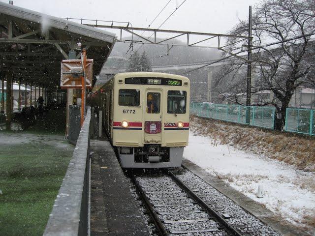 京王電鉄 ありがとう6000系ヘッドマーク4 6722編成 若葉台乗務区