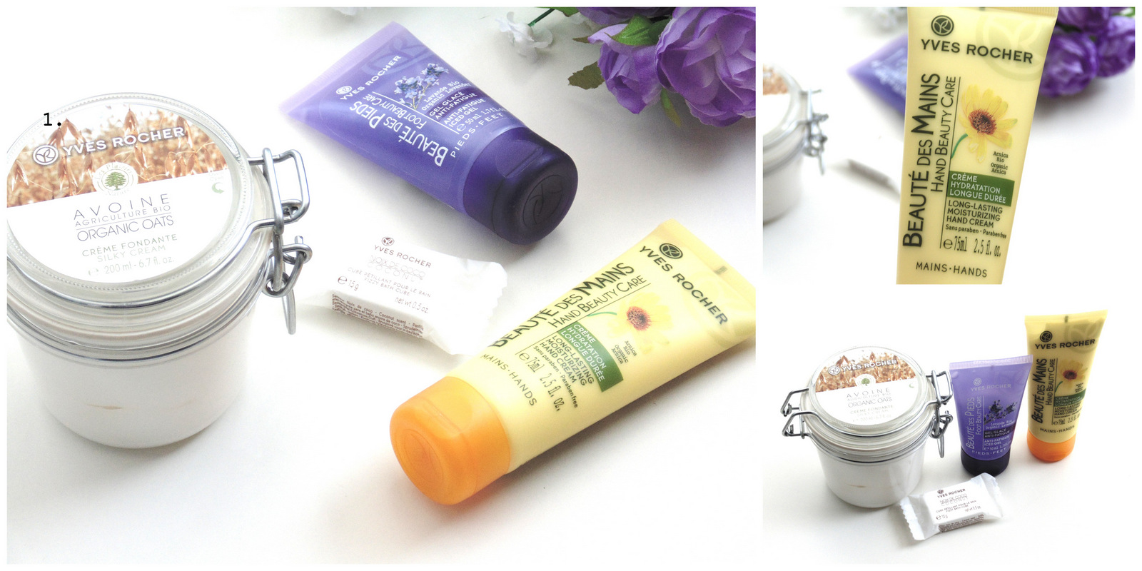 My Current Pamper Products Ft. Yves Rocher
