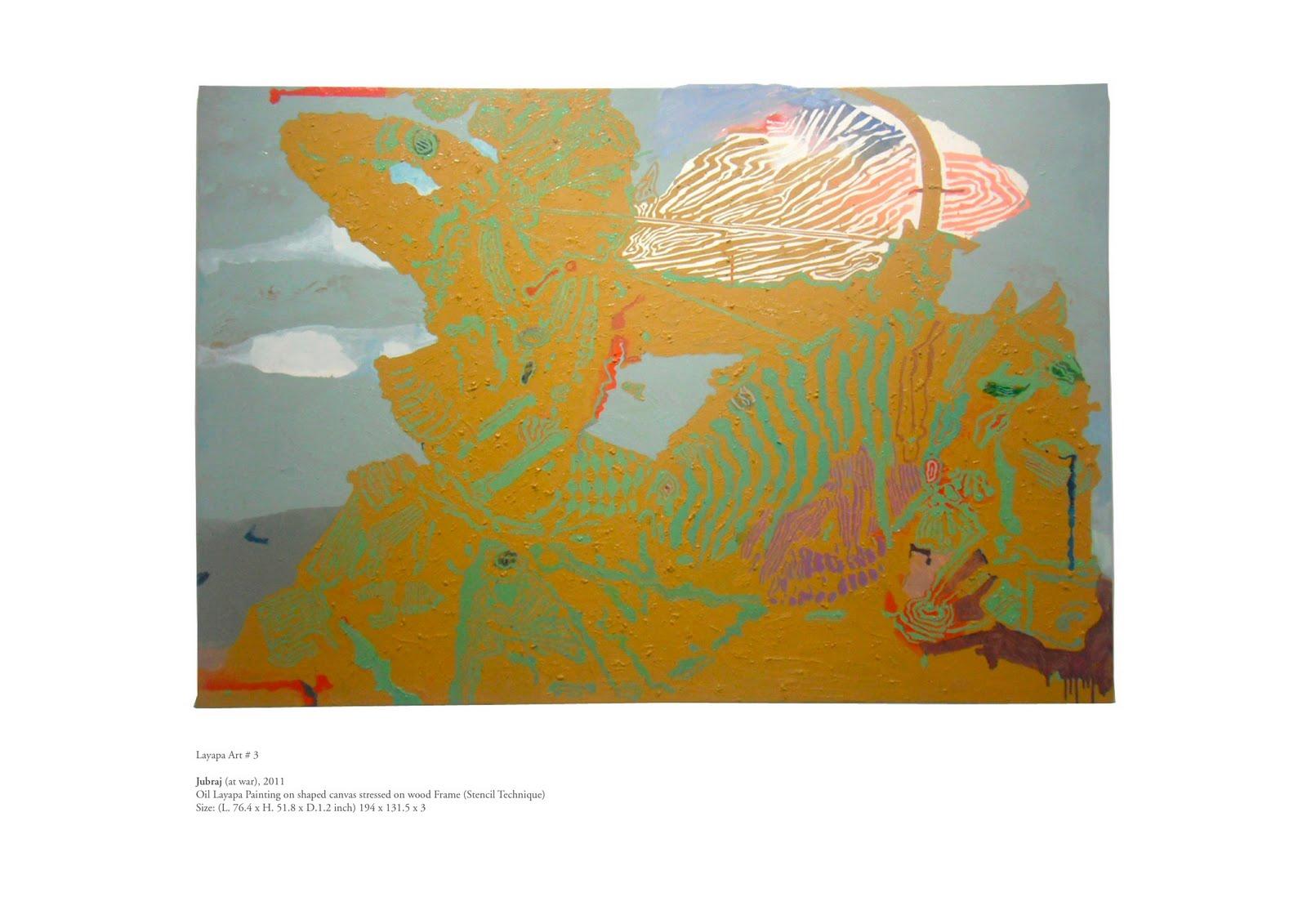 Layapa Stencil painting (Layapa Art)
