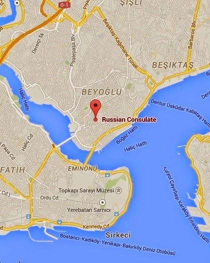 İstanbul'daki Rusya Federasyonu Başkonsolosluğu