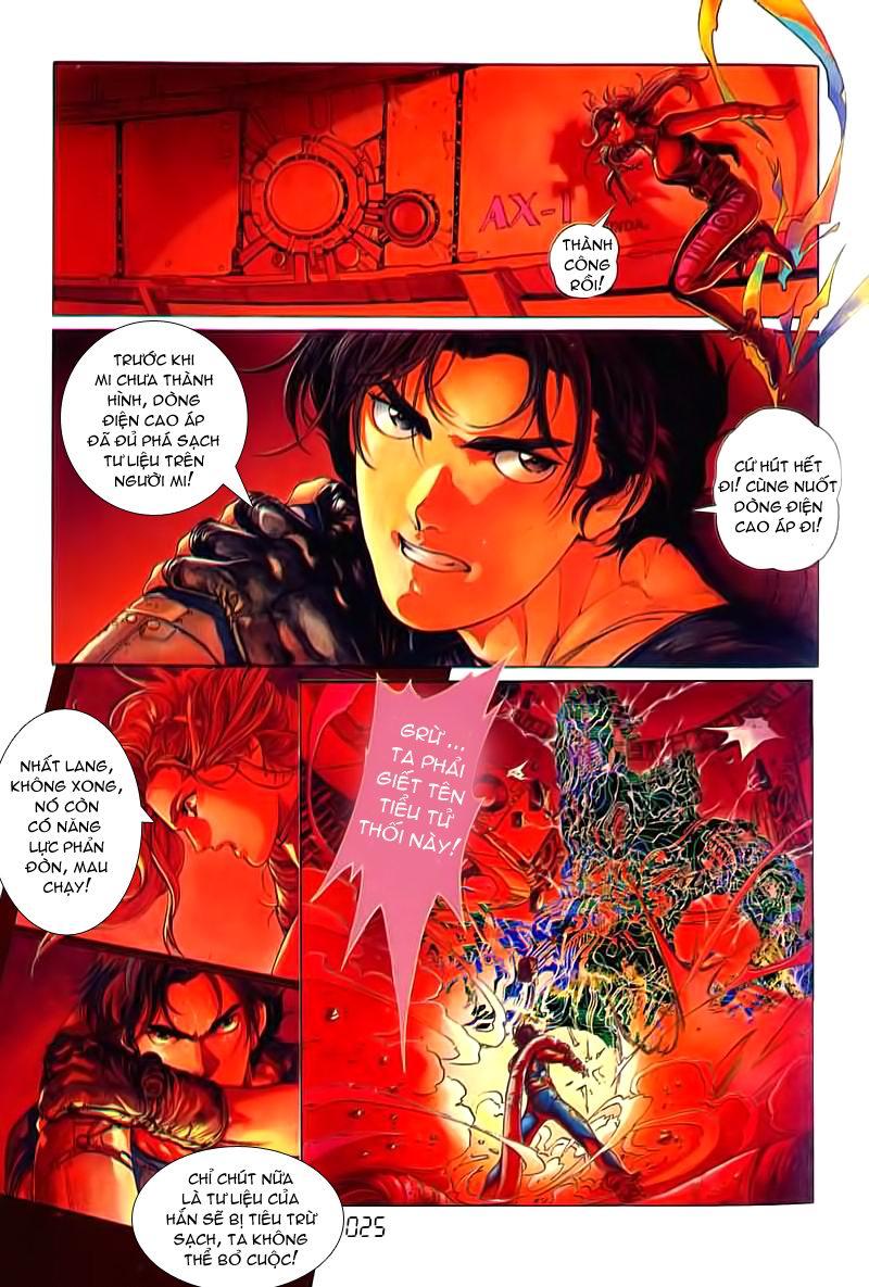 Cyber Weapon Z - Siêu Thần Z chap 3 - Trang 18
