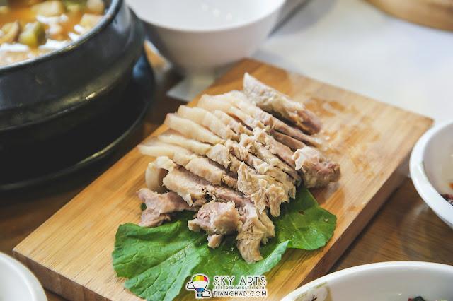 Pork slice @ Hwa Mok Won 화목원