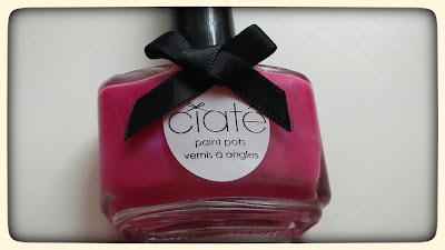 różowy lakier do paznokci Ciate Jelly Bean