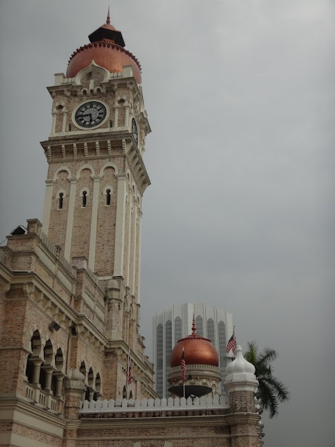 A popular tourist landmark, KL High Court which is also known as the Sultan Abdul Samad building which was built in 1897 in Kuala Lumpur, Malaysia