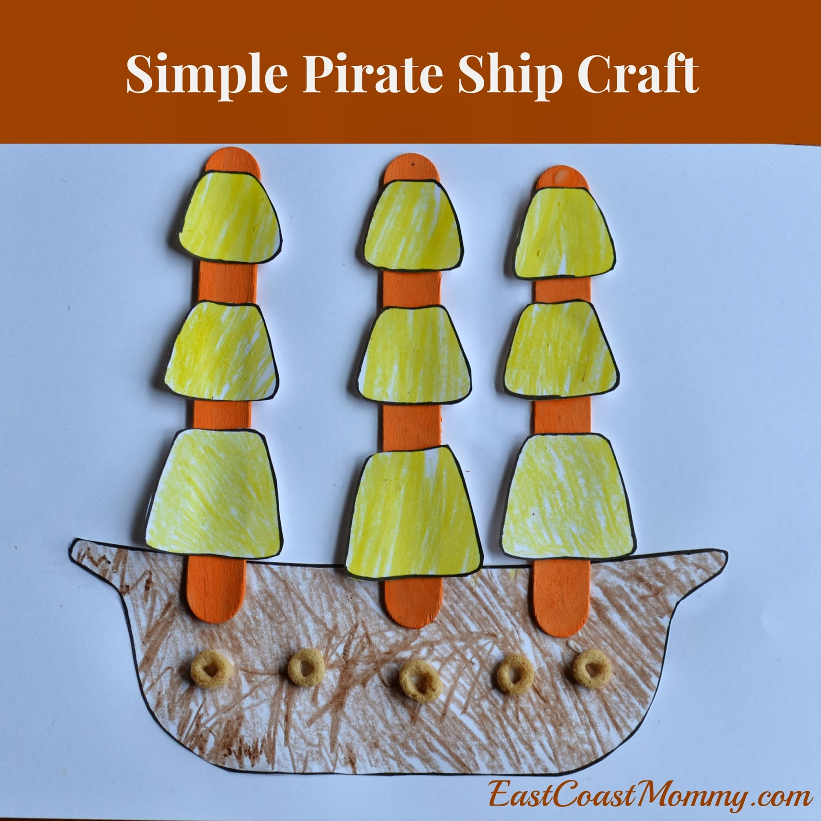 East coast mommy a pirate adventure and our new for Ez craft usa vinyl