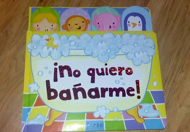 caja-nonabox-niños-bebes-libro-combel-no-quiero-bañarme
