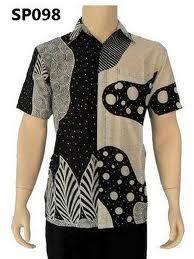 baju kemeja batik modern