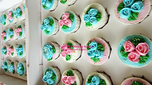 Roses Buttercream Cupcake