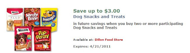 Dillons: More Catalina Deals