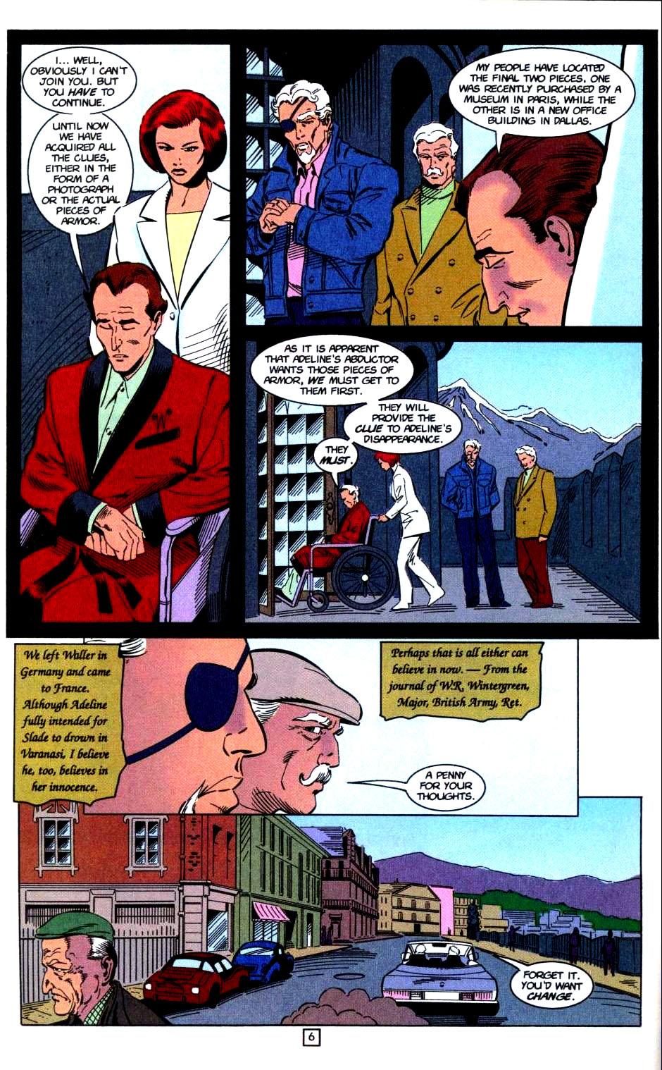 Deathstroke (1991) Issue #32 #37 - English 7