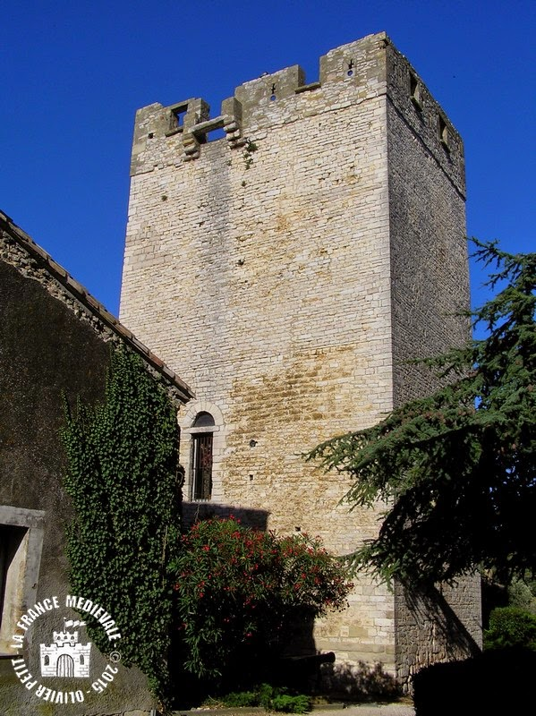 SAINT-LAURENT-DES-ARBRES (30) - Tour de Ribas