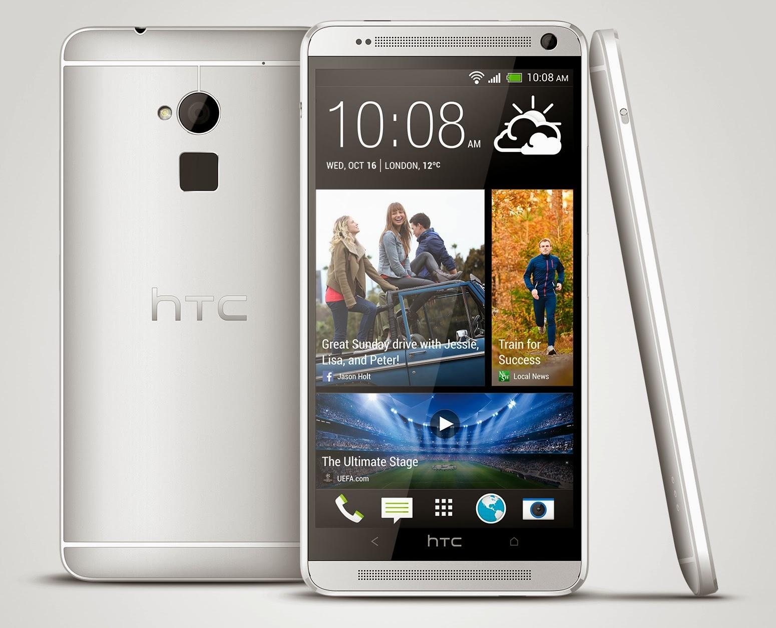 Keunikan HTC e Max ini adalah ianya di lengkapi dengan sensor pengesan cap jari seperti iPhone 5S Harga untuk pasaran di Malaysia di katakan dalam