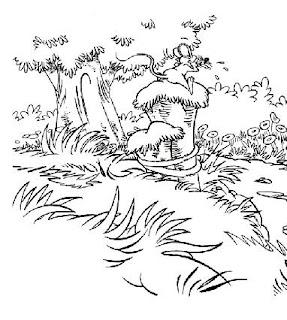 Desenho para colorir - Folclore