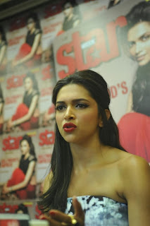 Actress Deepika Padukone Latest Pictures at Starweek Magazine Diwali Special Edition Launch  0005