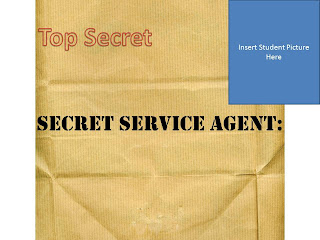 Secret Service Agent Badge