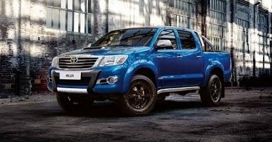 Toyota hilux 2016 sverige