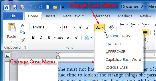 My keys are stuck in caps long on my word document HELP?