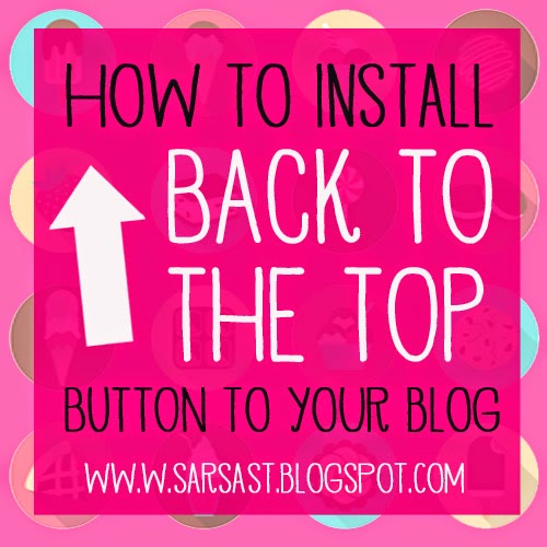 cara memasang back to the top button di blogspot dan wordpress