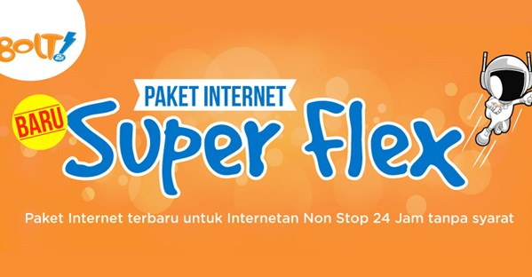 Daftar Paket Data Internet Bolt Terbaru November 2015