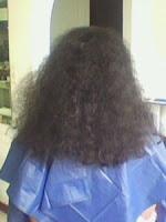 La reconstitución la pigmentación de los cabello