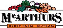 McArthurs Berry Farm, Outram, Otago. New Zealand.