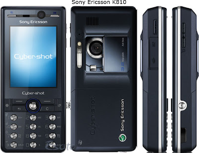 download all firmware sony, fitur and spesification sony ericsson k810i