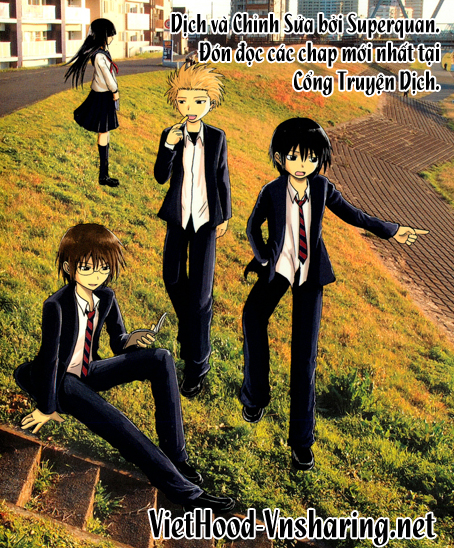 Danshi Koukousei no Nichijou Chap 13 - Next Chap 14