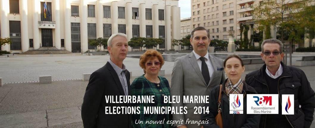 Villeurbanne Bleu Marine 2014