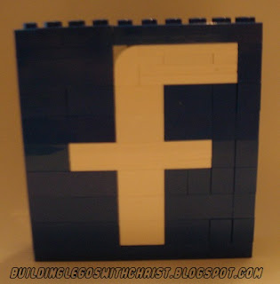 LEGO Facebook Creation, Like Building Legos with Christ