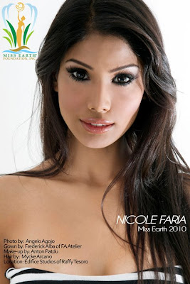 Miss Earth 2010 Nicole Faria