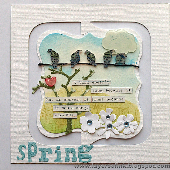 Layers Of Ink Tutorial Four Seasons Accordion Booklet