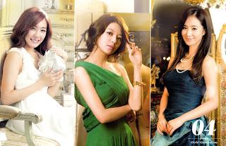SNSD Tiffany-Sooyoung-Yuri Desk Calendar 2013