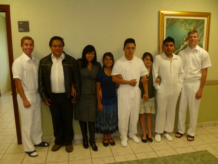 Jorge, Patricia, Mitzy, Brisa, Nathan, Edgar
